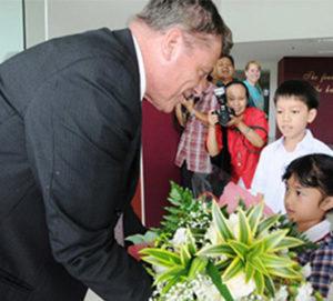 USA Ambassador Visit El Shaddai Intercontinental School