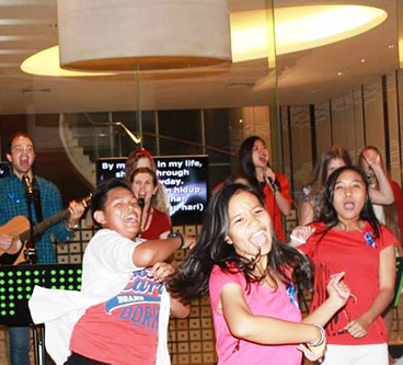 Blue Fire Concert with El Shaddai Australia 2014