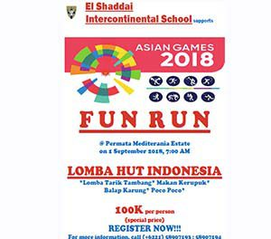 FUN RUN 2018 – September 1, 2018