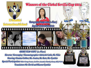 1ST PLACE WINNER (PHOTOGRAPHY COMPETITION)(SHORT FILM MAKING)