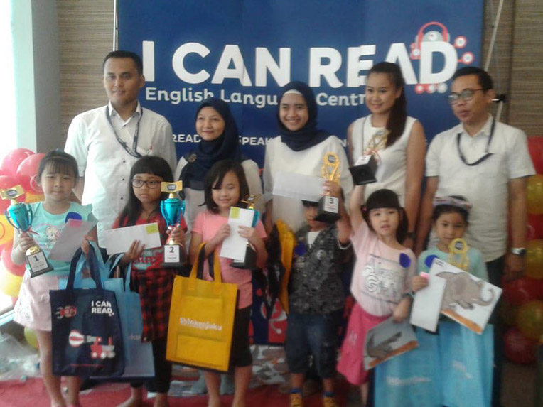 1ST PLACE WINNER (READING COMPETITON – KARAWACI)