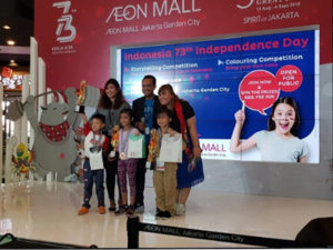 1ST PLACE WINNER (STORY TELLING COMPETITION – AEON MALL)