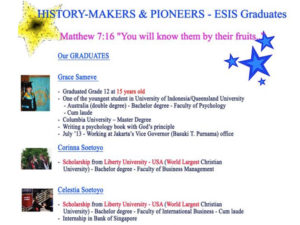 History- Makers & Pioneers