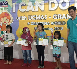 4TH PLACE WINNER (COLOURING COMPETITION – GRAMEDIA WORLD)