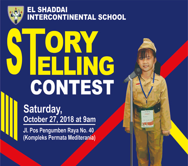 Story Telling Poster 27 Oct
