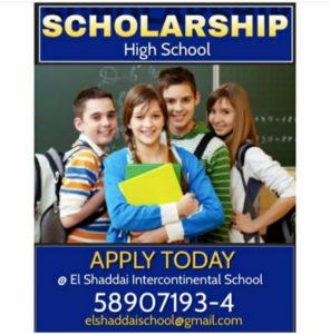 Scholarship- For High School