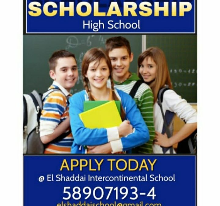 Scholarship- For High School