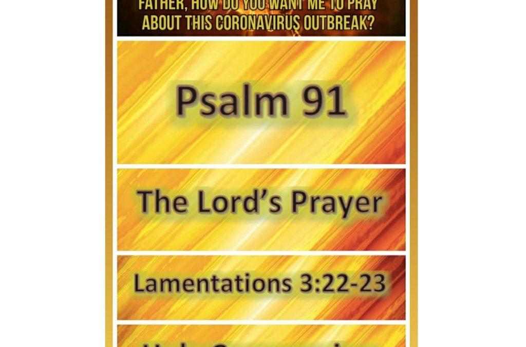 Pray – Coronavirus