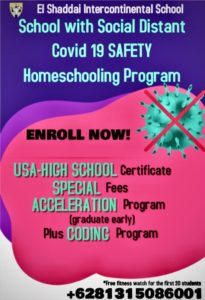Homeschooling Program – Covid 19 Safety