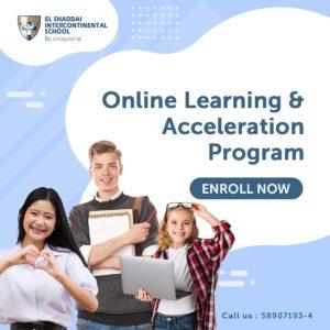 Enroll Now – Online Learning & AccelerationProgram