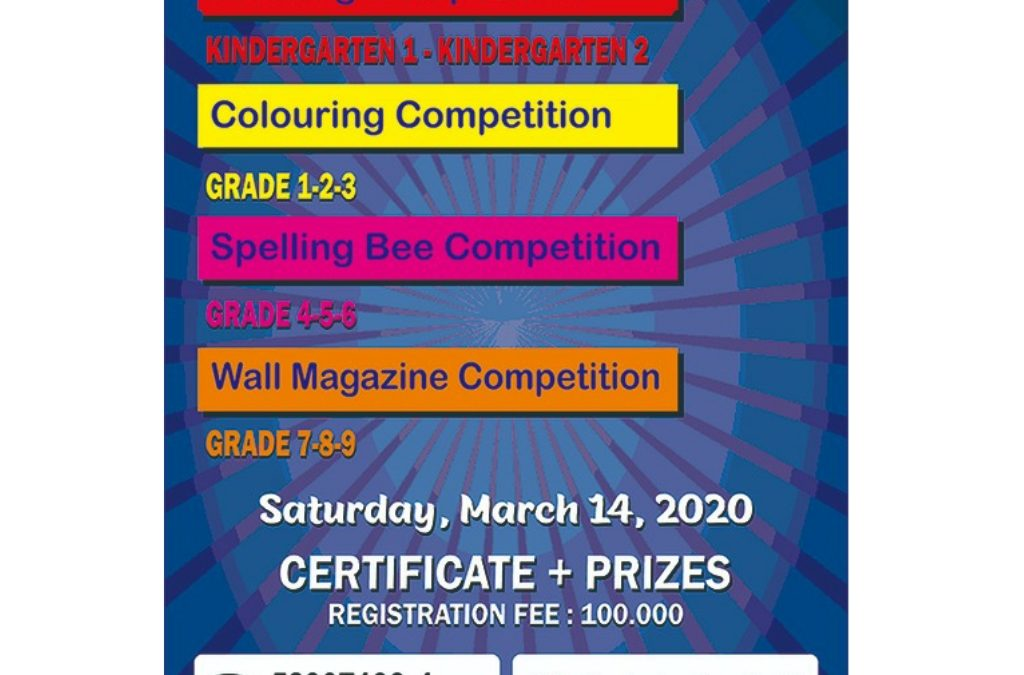 Competition : Drawing & Colouring, Spelling Bee, Wall magazine